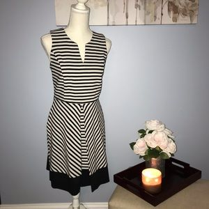 Striped cute and flirty dress
